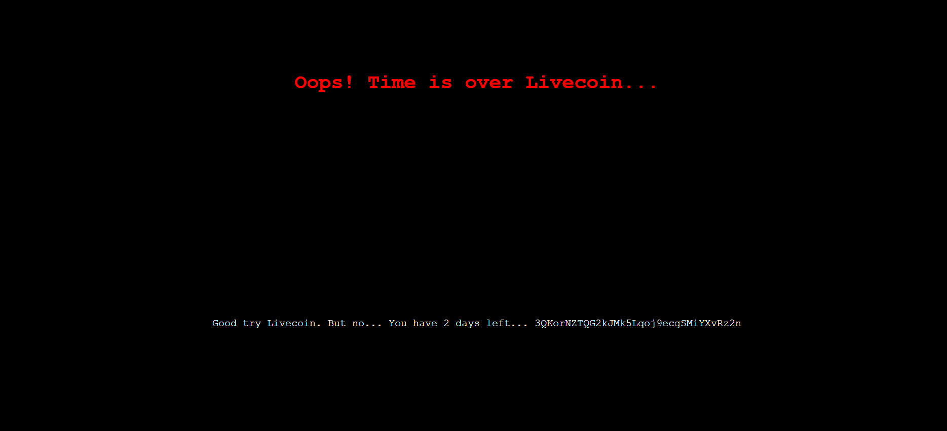 livecoin.net exit scam fake hack